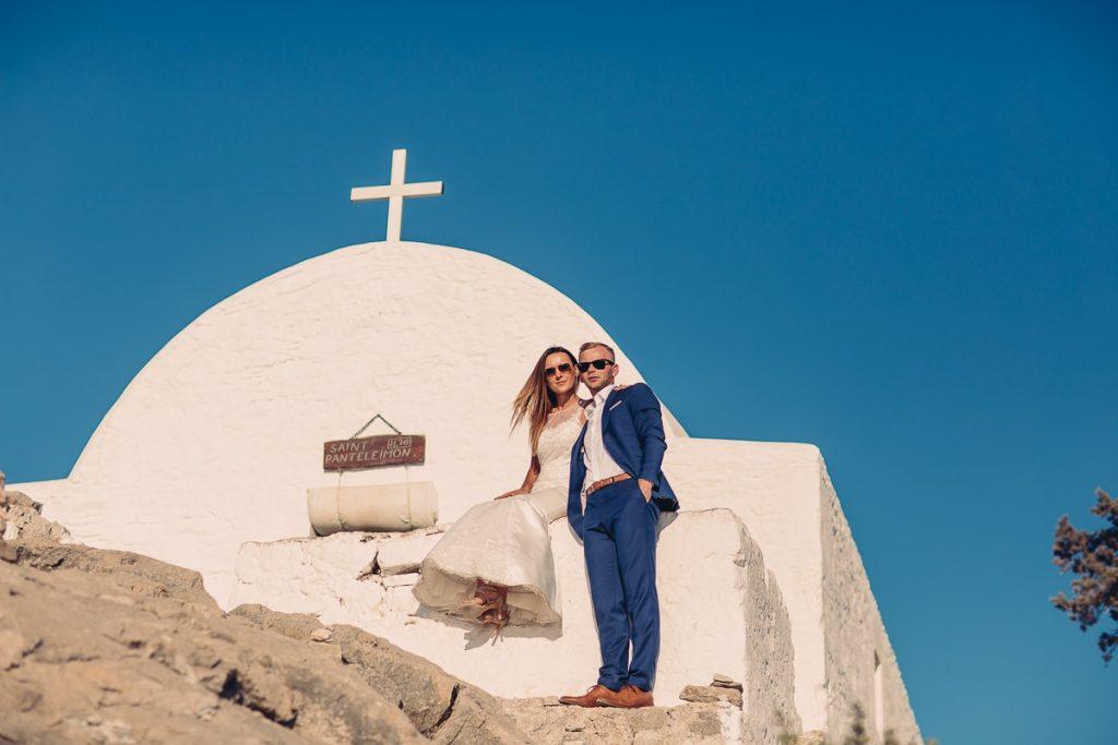 greckie klimaty sesja slubna