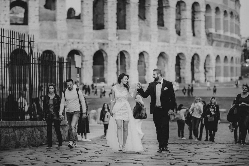 usmiech w rzymie