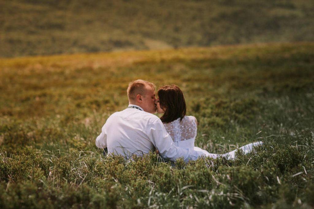 pocalunek w bieszczadach