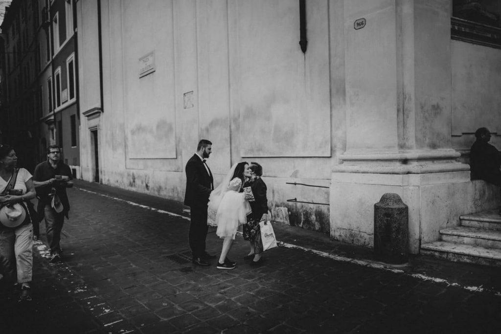 pocalunki w rzymie