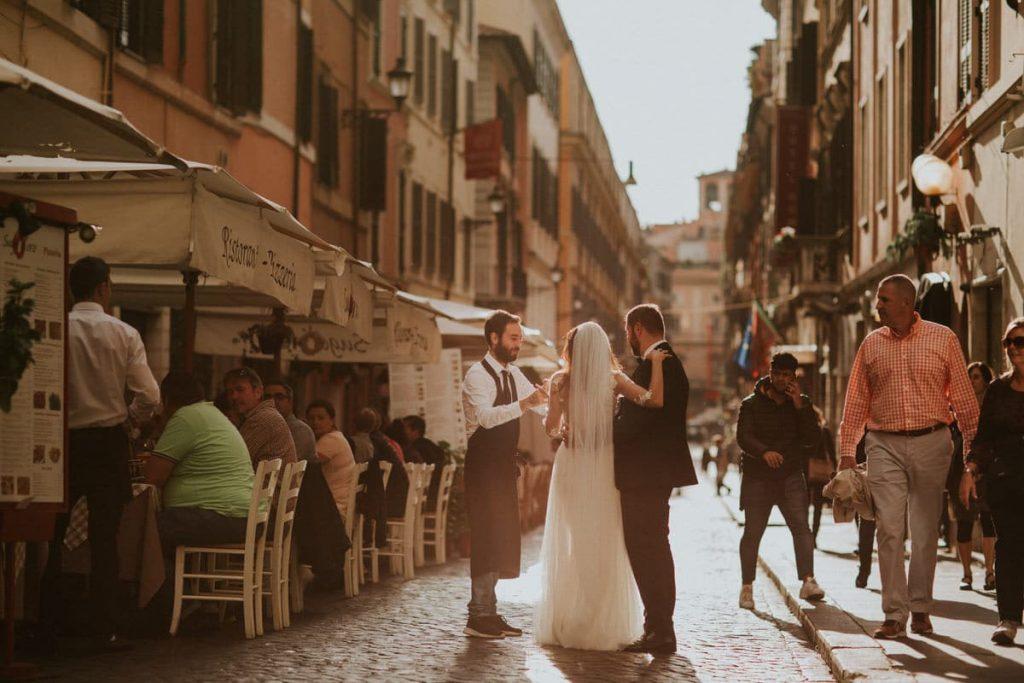 urocze uliczki rzymie