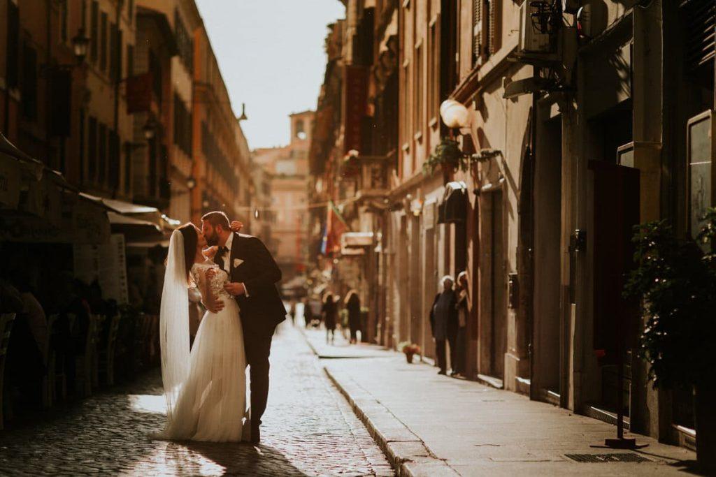 romantyczna sesja rzym